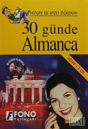 30 Günde Almanca (kitap + 2 CD)