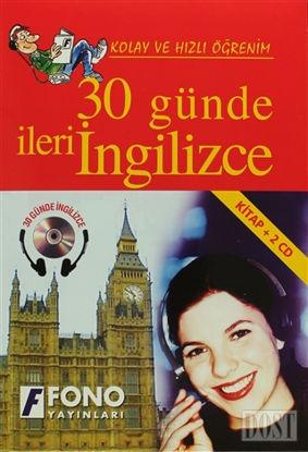 30 Günde İleri İngilizce (kitap + 2 CD)