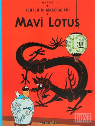 Mavi Lotus Tenten'in Maceraları 4