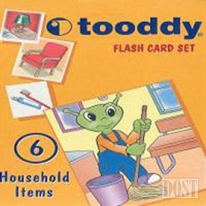 Flash Card Set: 6 (Household Items / Ev Aletleri ve Gereçler)