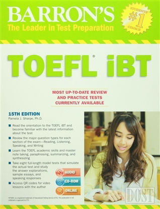 Barron's TOEFL IBT With Audio Cds And Cd-Rom