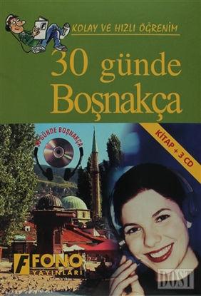 30 Günde Boşnakça (kitap + 3 CD)