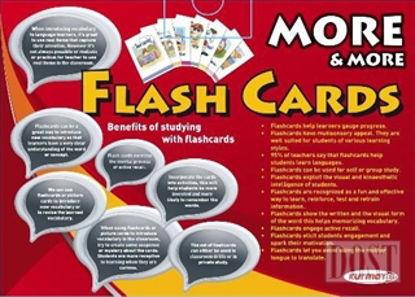 More ve More Flash Cards İngilizce Hafıza Kartları