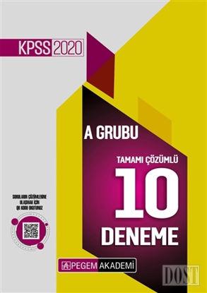 2020 KPSS A Grubu Tamamı Çözümlü 10 Deneme