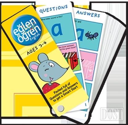 Eğlen Öğren English Time Card (3-4 Ages)