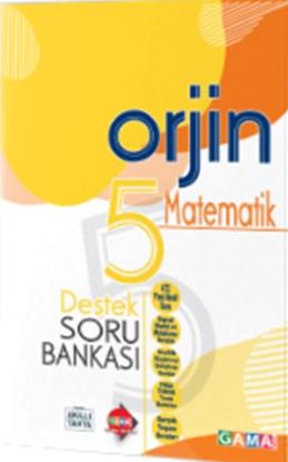 Orjin 5 Matematik Destek Soru Bankası resmi