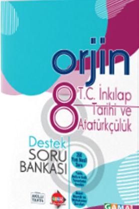 Orjin 8 T.C. İnkılap Tarihi Destek Soru Bankası resmi