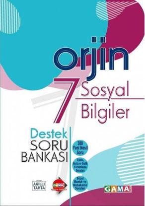 Orjin 7 Sosyal Bilimler Destek Soru Bankası resmi