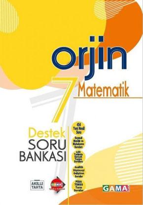 Orjin 7 Matematik Destek Soru Bankası resmi
