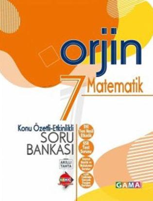 Orjin 7 Matematik Konu Özetli Soru Bankası resmi