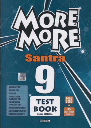 9.Sınıf More More Test Book Santra resmi