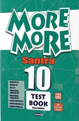 10.Sınıf More More Santra Test Book resmi