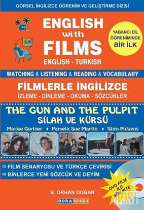 English with Films The Gun and The Pulpit Dvd Film ile Birlikte
