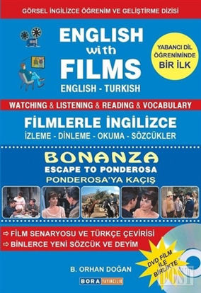 English with Films Bonanza Escape to Panderosa DVD Film le Birlikte