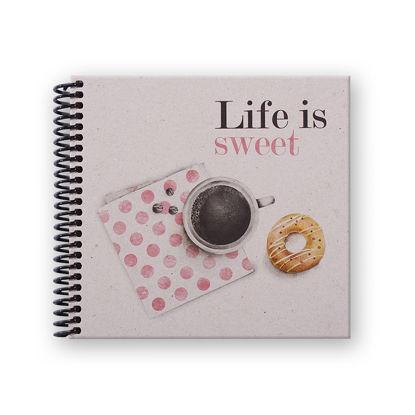 Container Life İs Sweet  Donut&Coffe 16*15 50 Yp Noktalı resmi