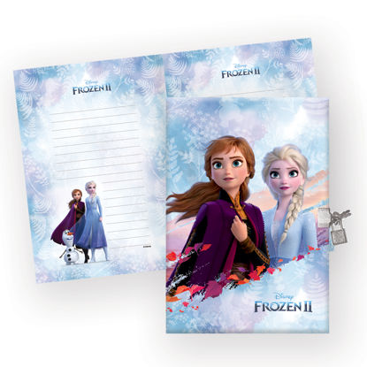 Frozen 14*20 104 Yp Kilitli Hatıra Defteri resmi