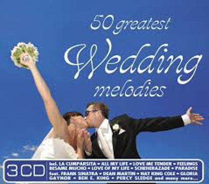 50 Greatest Wedding Melo.    -3Cd resmi