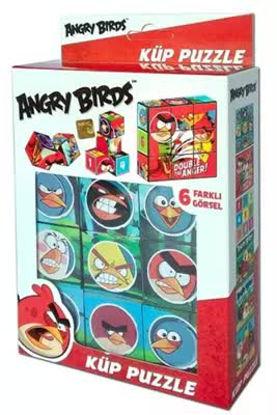 Angry Birds Küp Puzzle  9P resmi