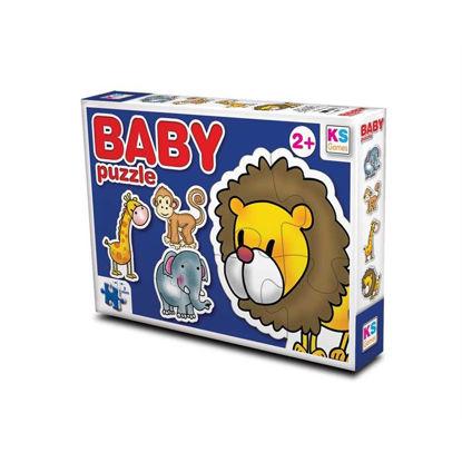 Baby Puzzle Hayvanlar resmi