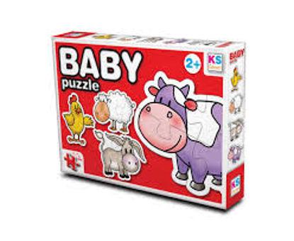Baby Puzzle Hayvanlar-2 resmi