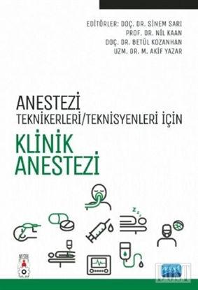 Anestezi Teknikerleri Teknisyenleri in Klinik Anestezi