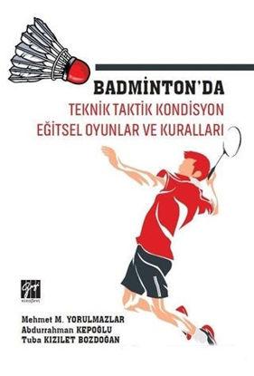 Badminton'Da Teknik Taktik Kondisyon resmi