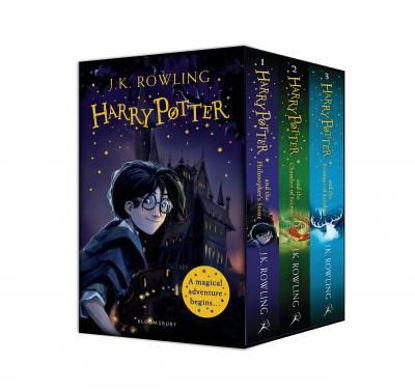 Harry Potter 1-3 Box Set A Magical Adventures Begins resmi