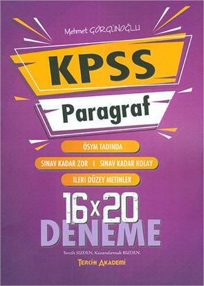 Kpss Paragraf 16X20 Deneme resmi
