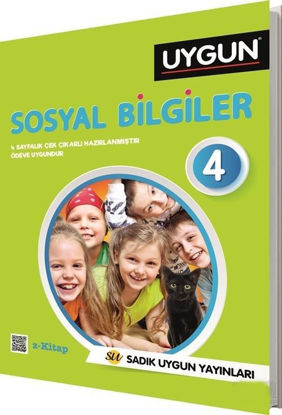 4.Sınıf Uygun Sosyal Bilgiler Z Kitap resmi