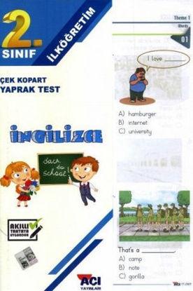 2.Sınıf İngilizce Yaprak Test resmi