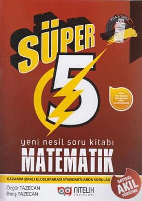 5.Sınıf Matematik Soru Kitabı Süper resmi