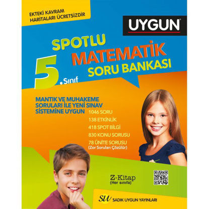 5.Sınıf Matematik Soru Bankası Spotlu resmi