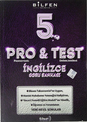 5.Sınıf İngilizce Pro Test Soru Bankası resmi