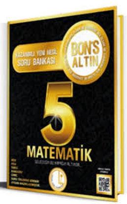 5.Sınıf Matematik Soru Bankası Bonus Altın resmi