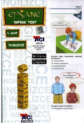 5.Sınıf İngilizce Yaprak Test resmi