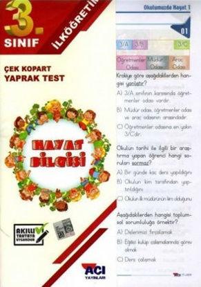 3.Sınıf Hayat Bilgisi Yaprak Test resmi