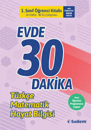 1.Sınıf Evde 30 Dakika Türkçe Matematik Hayat Bilgisi resmi