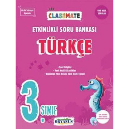 3. Sınıf Classmate Türkçe Etkinlik Soru Bankası resmi