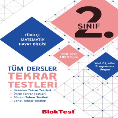 2.Sınıf Tüm Dersler Tekrar Testleri resmi