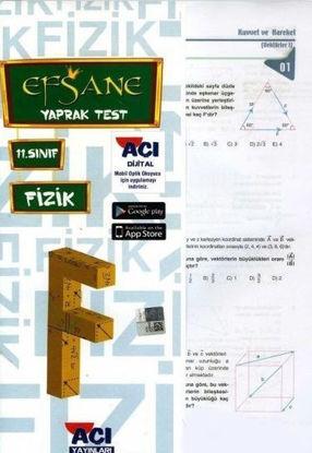 11.Sınıf Fizik Yaprak Test resmi