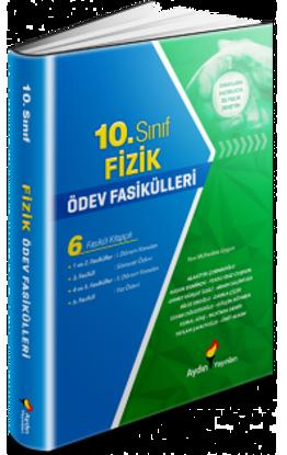 10. Sınıf Fızık Ödev Fasıküllerı Aydın Yayınları resmi