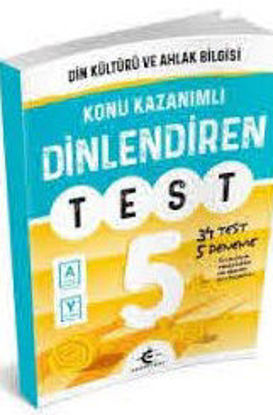 5.Sınıf Dinkültürü Konu Kazanımlı Dinlendiren Test resmi
