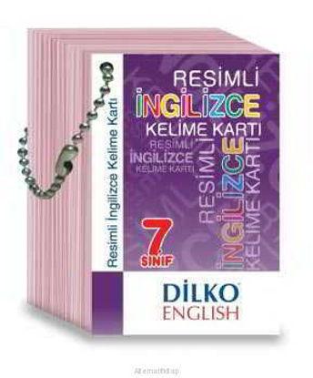 7.Sınıf İngilizce Kelime Kartı resmi