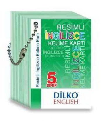 5.Sınıf İngilizce Dil Kartları resmi
