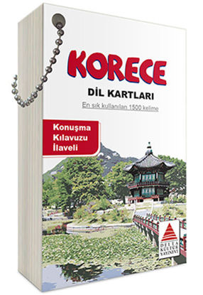 Korece Dil Kartları resmi