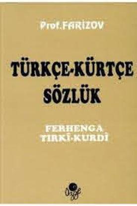 Türkçe-Kürtçe Sözlük Ferhenga resmi