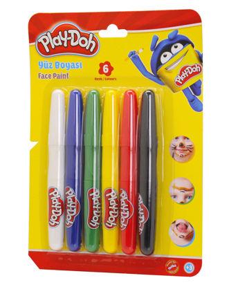 Play-Doh Yüz Boyası 6 Renk resmi