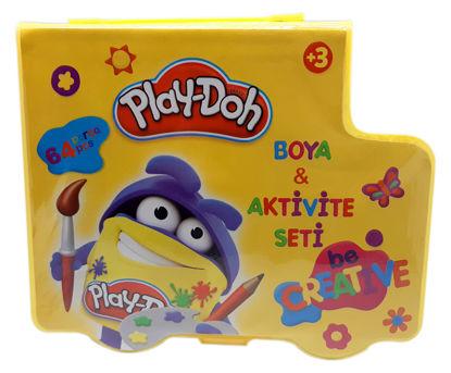 Play-Doh Kırtasiye Seti 64 Parça resmi