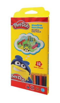 Play-Doh Kuru Boya Üçgen 12 Renk resmi