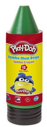 Play-Doh Sılın.Crayon Boya Tup 12 Renk resmi